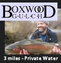 private water fishing Colorado Boxwood Gulch