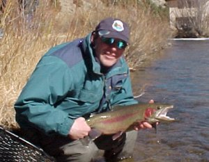 Smiling Jim with Boxwood rainbow in Colorado