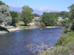 Arkansas River Colorado float flyfishing