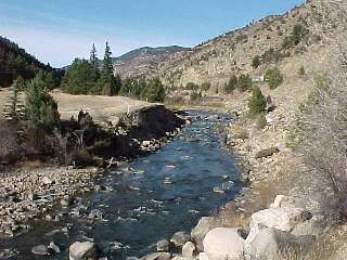 Colorado fishing network clear creek for Clear creek fishing