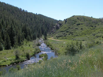 Yampa River Tailwater below Stagecoach