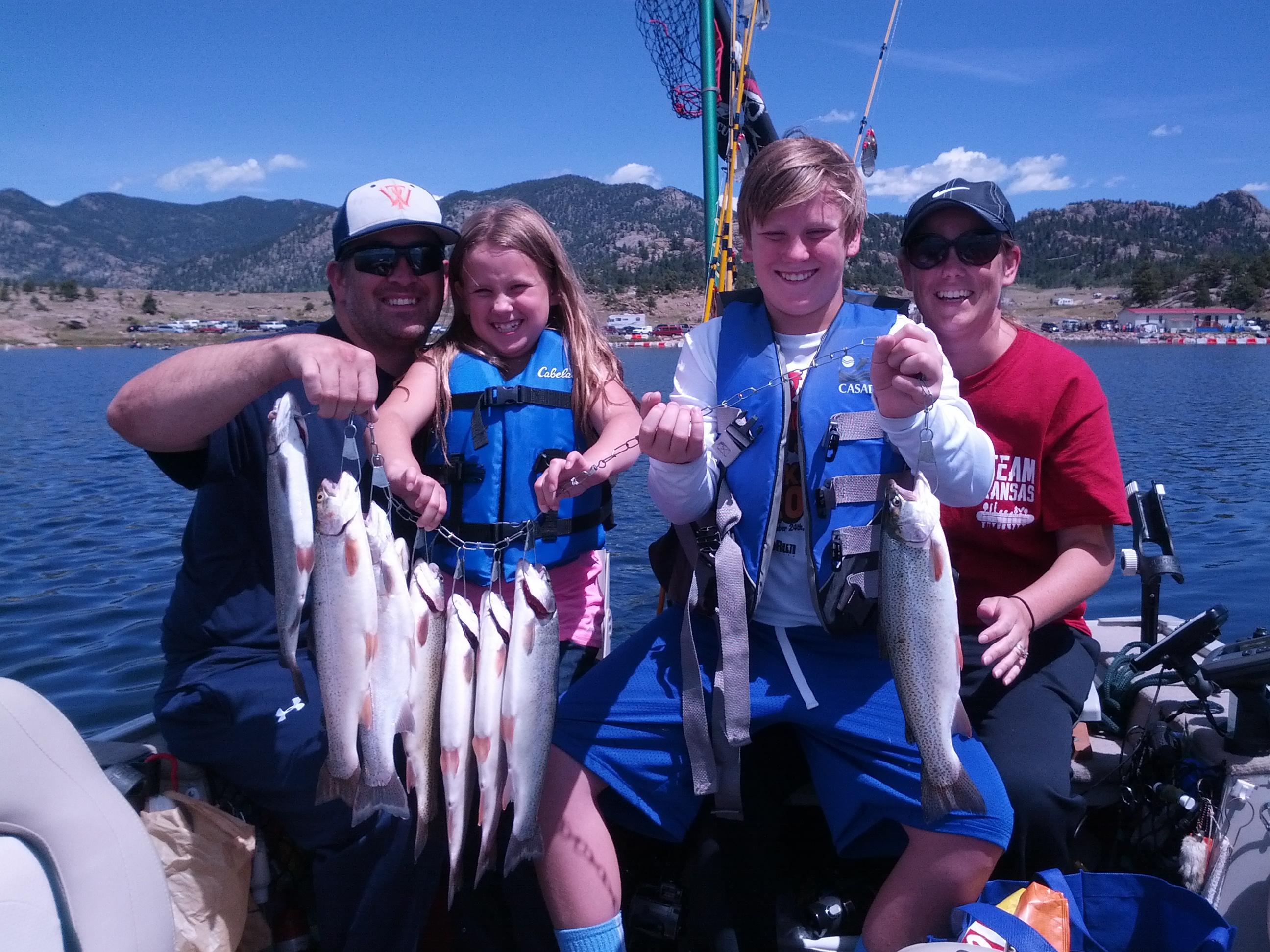 Colorado Fishing Elevenmile Reservoir