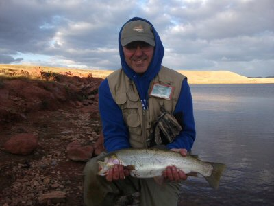 Colorado fishing network fish tails photos of colorado for Antero reservoir fishing report